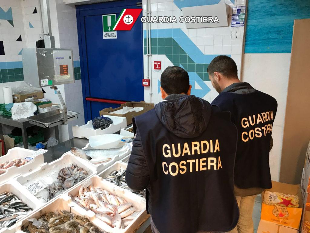L'attività di controllo sulla filiera ittica della Guardia Costiera nel Lazio