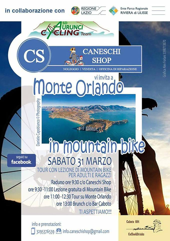 Gaeta – Monte Orlando – In mountain bike