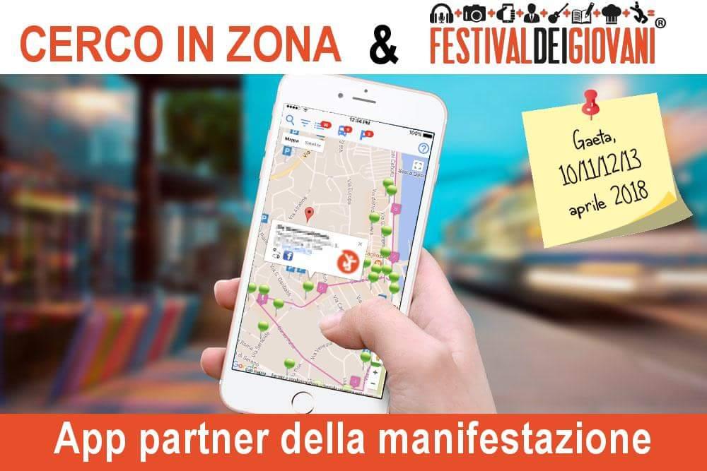 Gaeta – Cerco in zona – App partner del Festival dei Giovani 2018 –