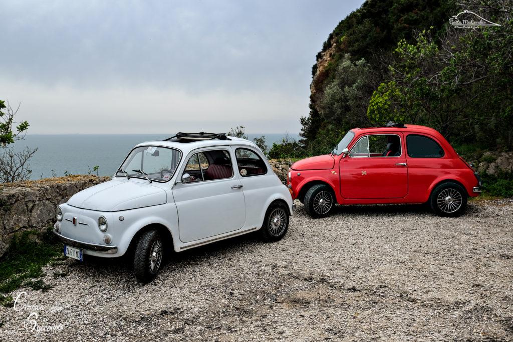 #aDayIn500 – La FotoGallery del Backstage – Il Video di Gaeta in Fiat 500
