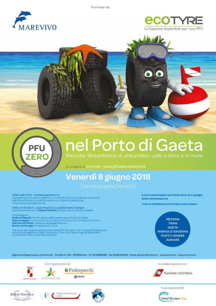Gaeta PFU Zero sulle costa italiane