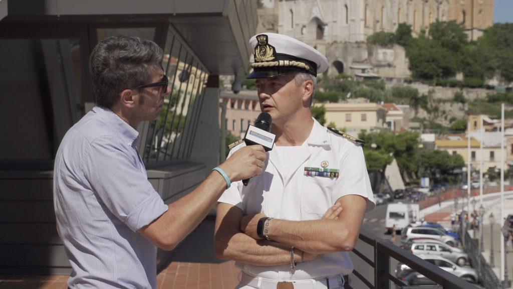 Gaeta la Guardia Costiera informa attraverso la Radio Show Italia 103e5