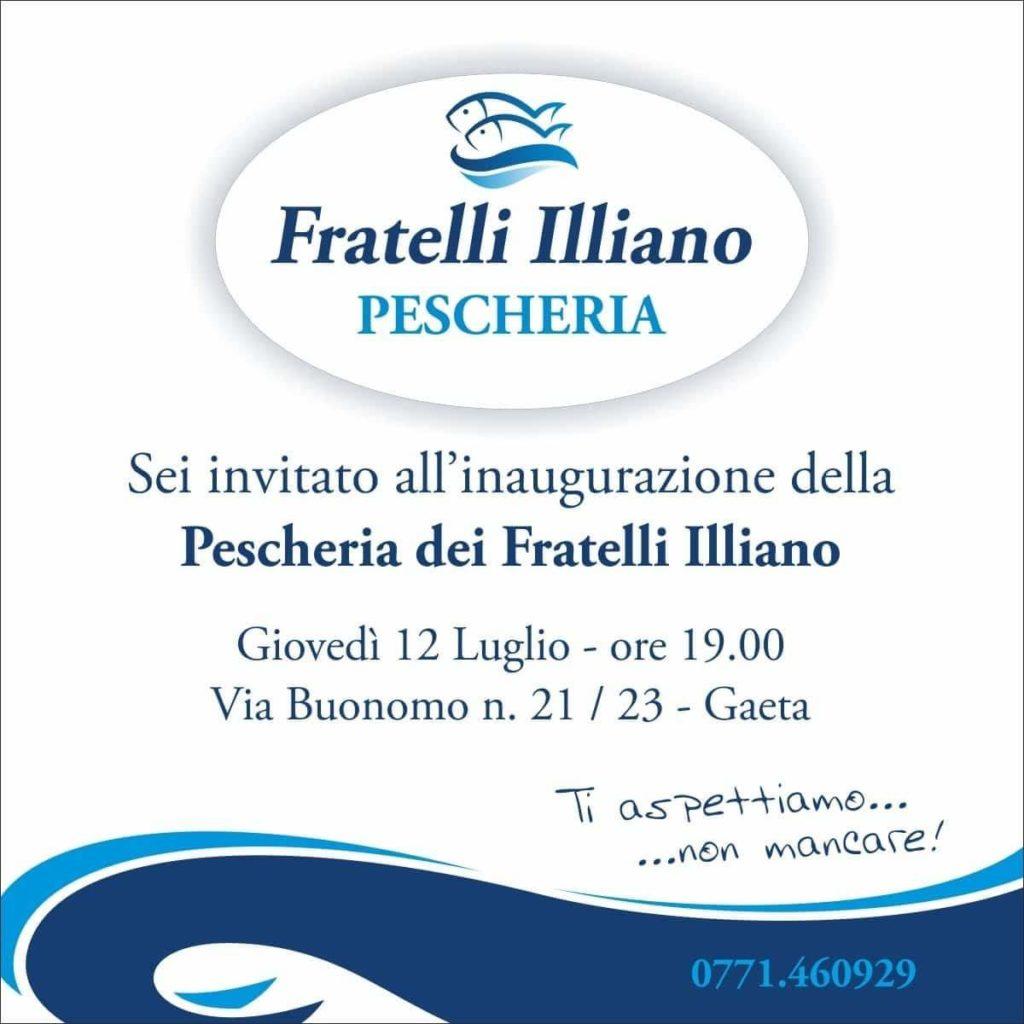 Gaeta apertura nuova attività dei Fratelli Illiano Pescheria