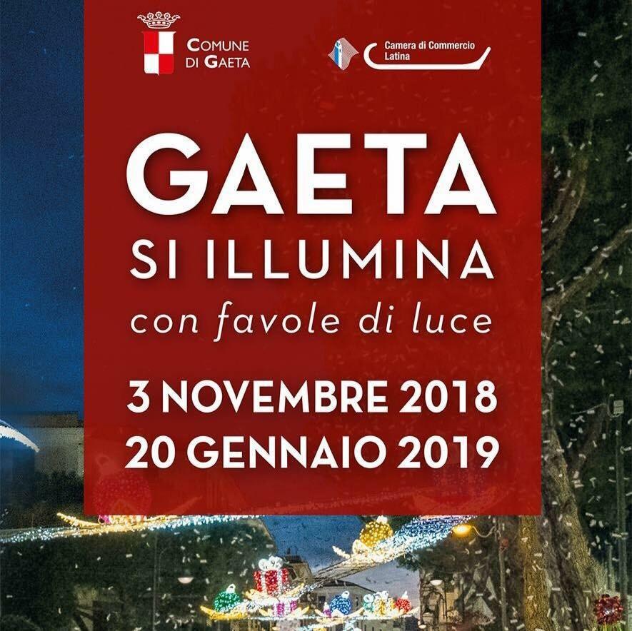 Gaeta Luminarie 2018 ecco il Programma Ufficiale dell'evento