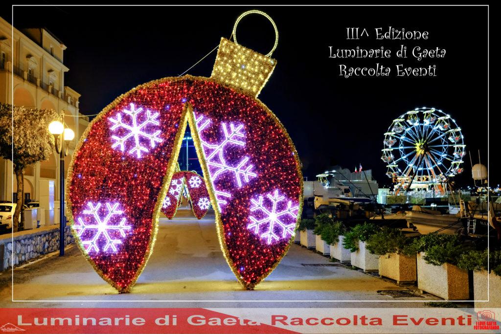 Le luminarie di Gaeta Raccolta Eventi III^ Edizione