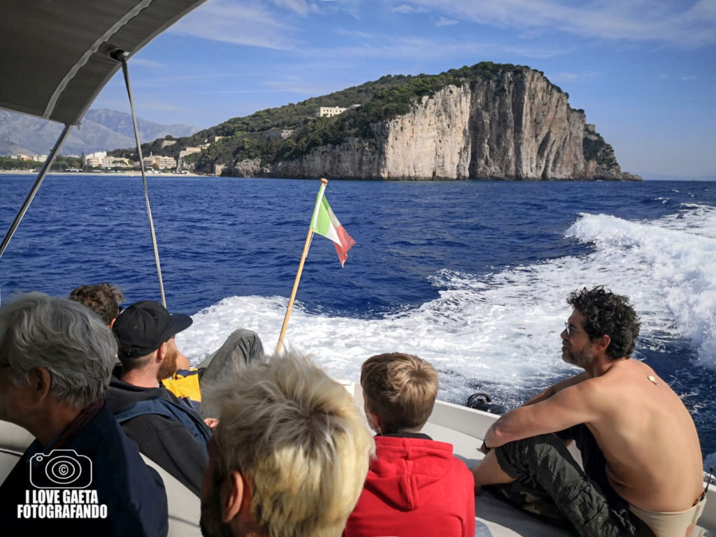 Gaeta banchina Caboto presente Alessandro Gassman Film Croce e Delizia