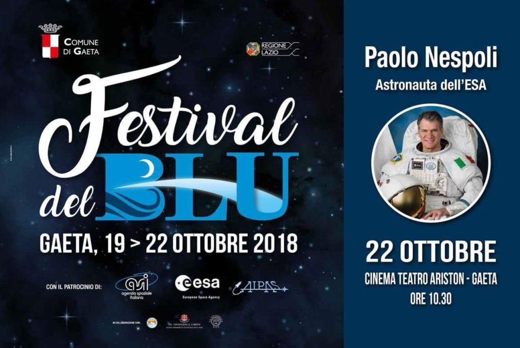 Gaeta Festival del Blu incontra Paolo Nespoli