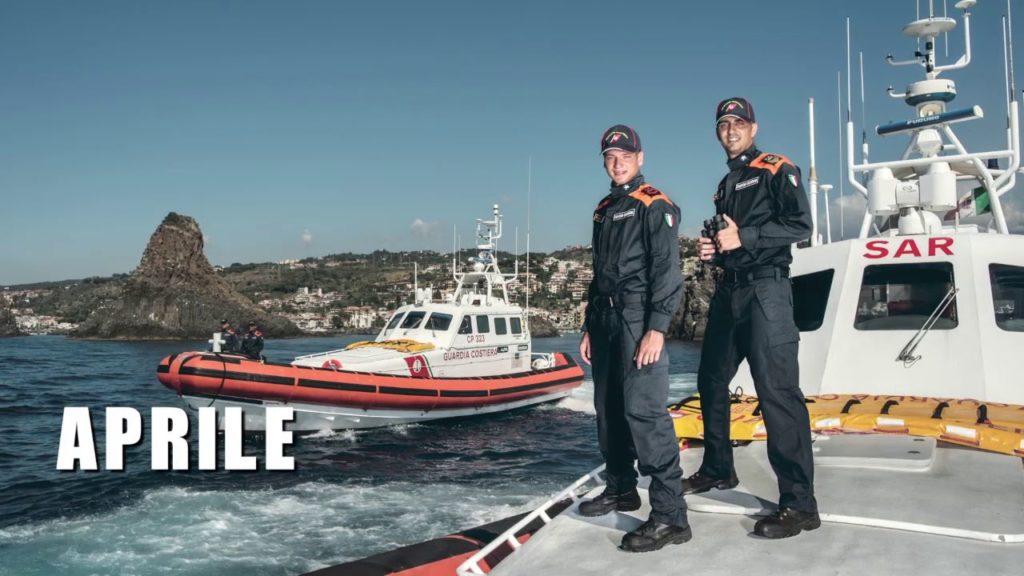 La Guardia Costiera presenta il calendario 2019 – Il backstage