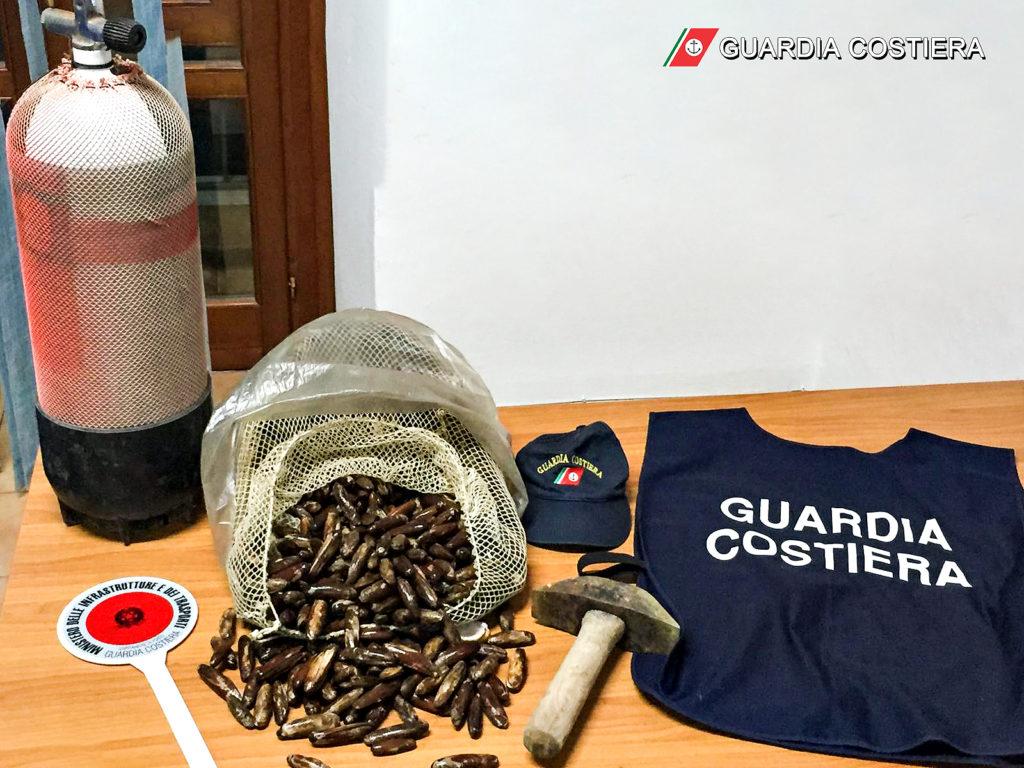 """Gaeta la Guardia Costiera dichiara guerra ai predoni del mare """"datterari"""""""