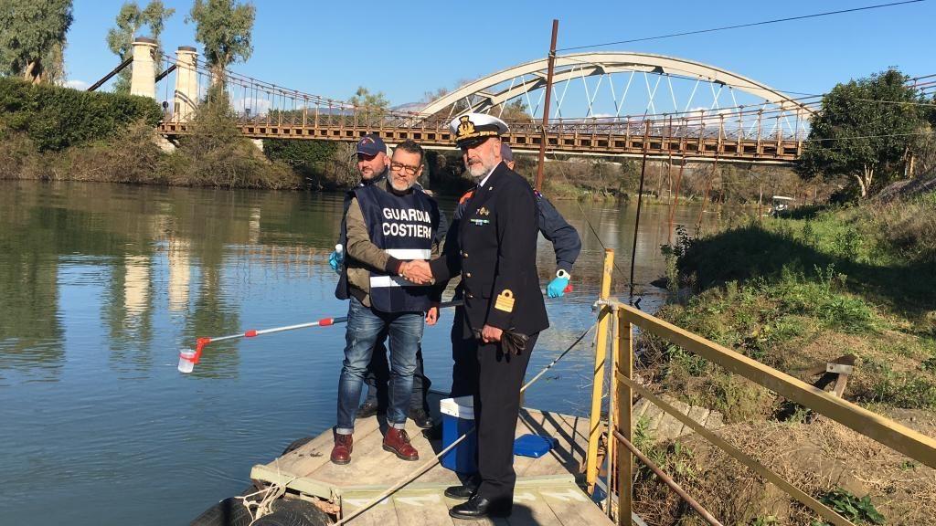 Gaeta Guardia Costiera visita del Direttore Marittimo del Lazio