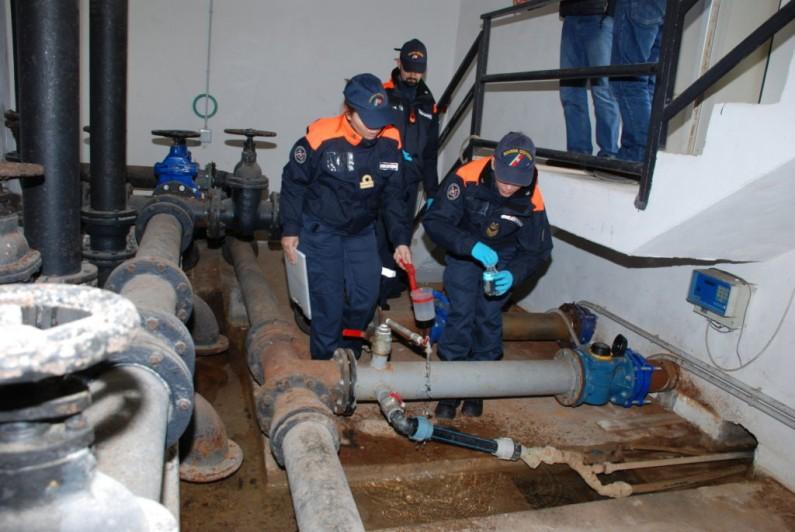 Controlli della Guardia Costiera al dissalatore d'isola di Ventotene