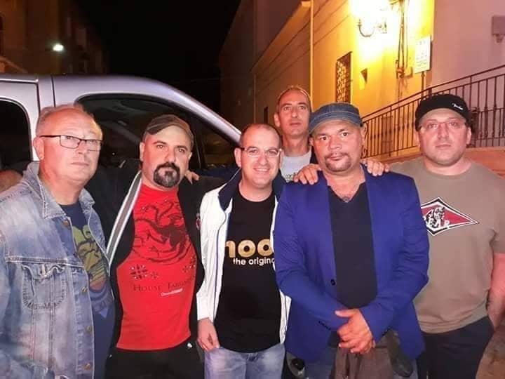 Gaeta protagonista nella band di Gatto Panceri a Milano