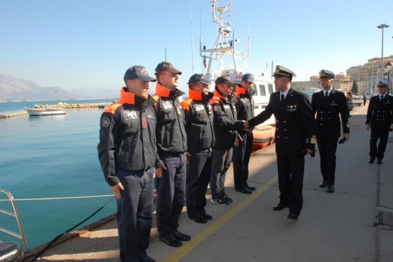 Il Comandante Regionale del Lazio della Guardia Costiera visita Ponza