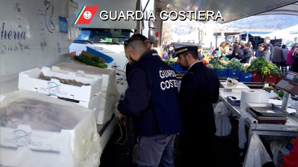 Filiera della pesca sequestri e denunce della Guardia Costiera