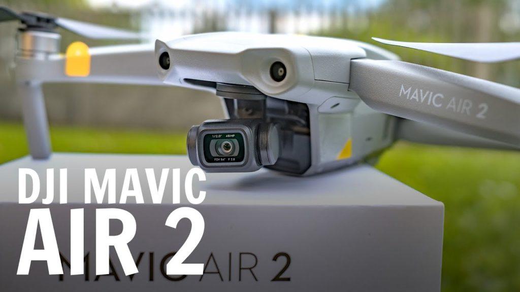 DJI Mavic Air 2 nuovo drone pieghevole