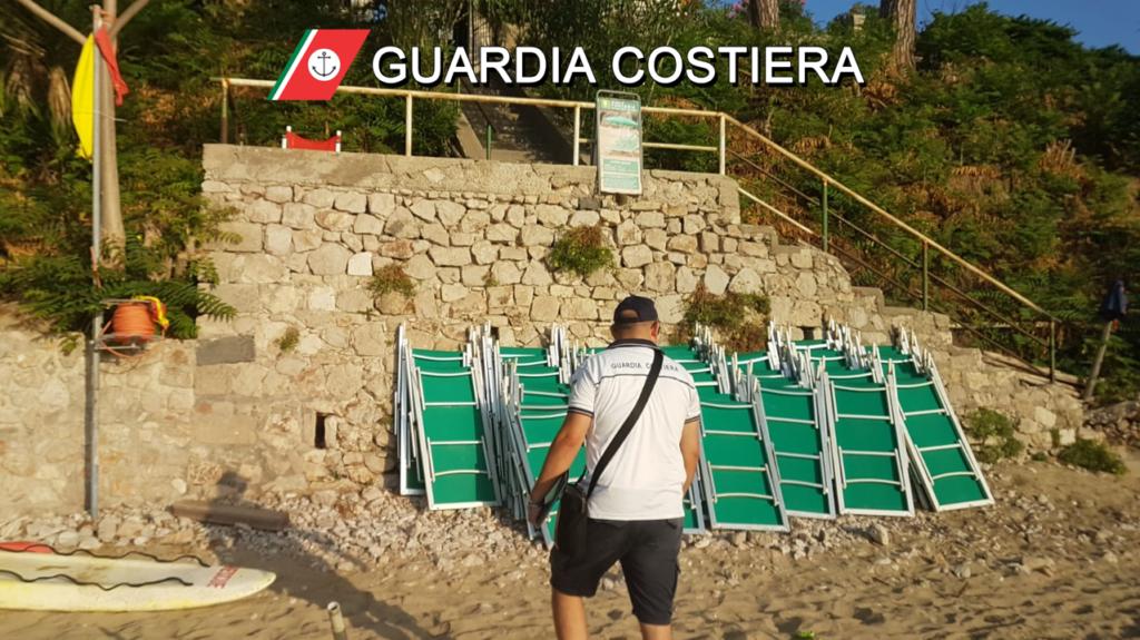 foto-2-1024x575 Guardia Costiera contrasto al preposizionamento abusivo delle spiagge libere